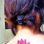 back - Lotus Flower Tattoo