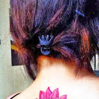 back - Lotus Flower Tattoo