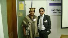 Sr. Walter Kategari junto al Dr. Eddie Condor