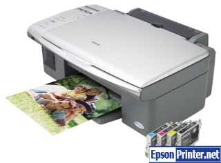 How to reset Epson CX5700F printer
