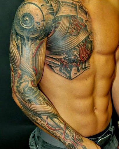 8bc270290 50 Best And Awesome Chest Tattoos For Men