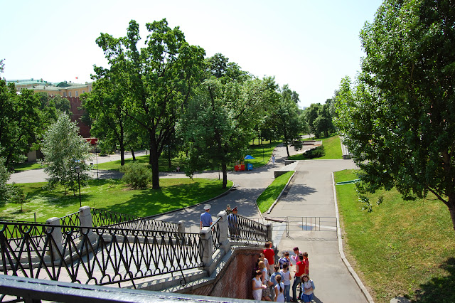 Jardines de Alejando, Plaza Roja de Moscú