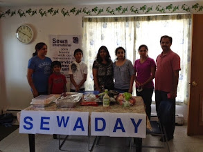 Photo: Sewa Day 2014: Serving food at Emmaus Homeless shelter , Newark, DE (Annadana program)