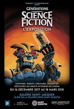 affiche Générations Science-Fiction Saint-Quentin