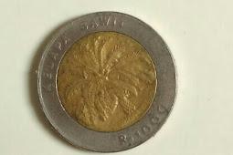 Uang Rp.1000 koin (Zaman Dulu)