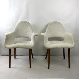 Pair of Mid-Century Modern Armchairs #1