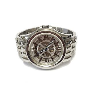 Bulova Accutron Automatic Kirkwood Skeleton Watch