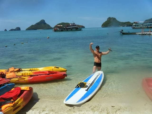 samui sup paddleboard