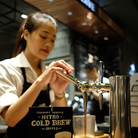 Nitro Cold Brew by Beh Heng Long - Food & Drink Alcohol & Drinks ( starbucks )