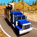 Animals Transport Truck Driver icon
