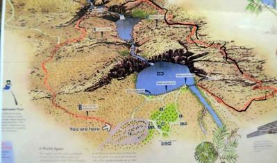 Map Edith Falls