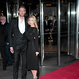 WWW.ENTSIMAGES.COM -    Peter Crouch and Abbey Clancy   attend  Ledley King Testimonial Gala Dinner at London Hilton Park Lane, London May 8th 2013   as a sign of respect to former footballer and star of Tottenham Hotspur, is honoured for his sporting career                                                                          Photo Mobis Photos/OIC 0203 174 1069