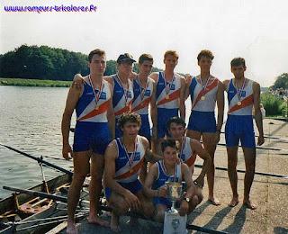 1992-La saison de l'équipe de France d'aviron