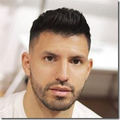 Sergio Leonel Aguero Short Hair With High Skin Fade