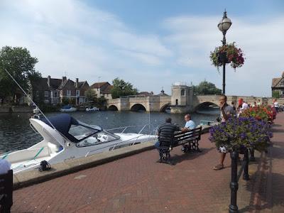 St Ives river  bridge