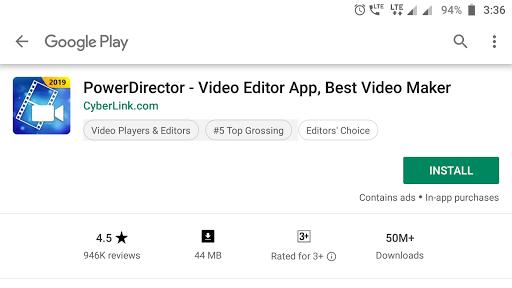 PowerDirector me video kaise edit kre