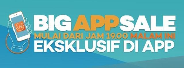 lazada big app sale mulai pukul 19 malam ini