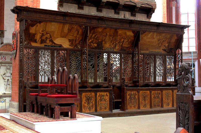 Sillería de la Iglesia de Santa Isabel