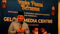 Anis Matta meresmikan Gelora Media Centre Menjelang Pelaksanaan Pemilu 2024