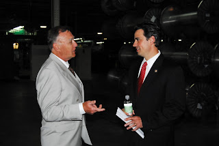 Werner Braun and Congressman Tom Graves (Ga-9) title=