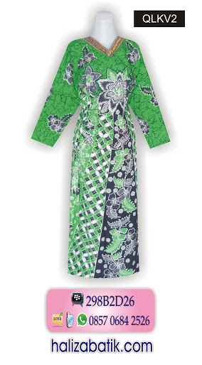 gambar baju batik, butik baju batik, baju batik modern
