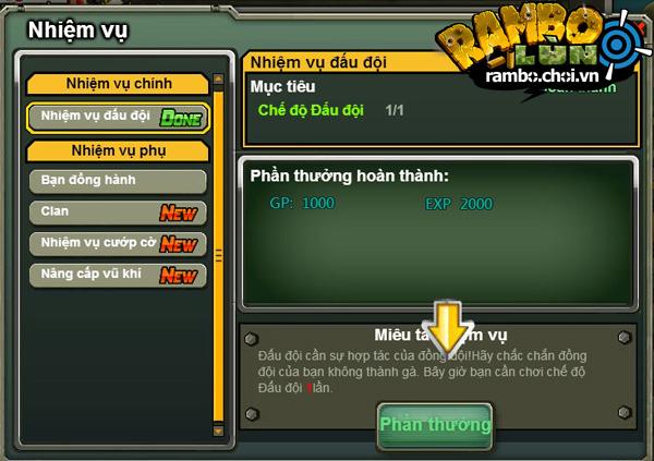 VGG hé lộ ảnh Việt hóa của Rambo Lùn Online 5