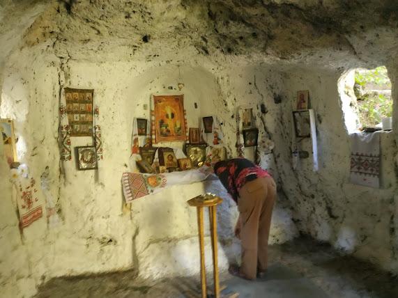 Маліївці, печера