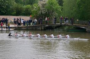 Worcester Men rowing