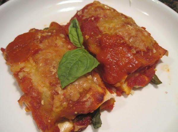 Mushroom, Sausage, Ricotta And Basil Cannelloni Recipe