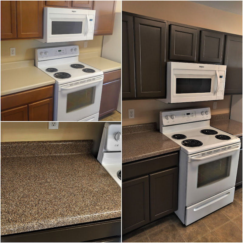 Countertop Refinishing, Kitchen Resurfacing Or Repairs On