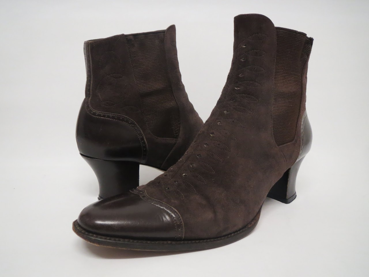 Stephane Kilian Brown Suede Boots