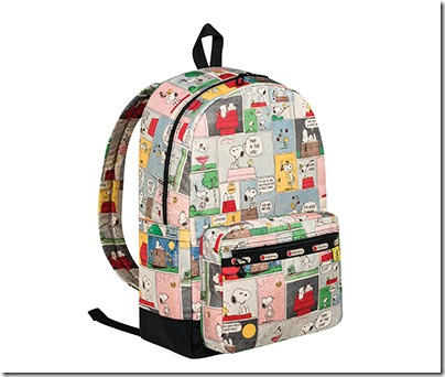Peanuts X LeSportsac 8266 Essential Backpack 02