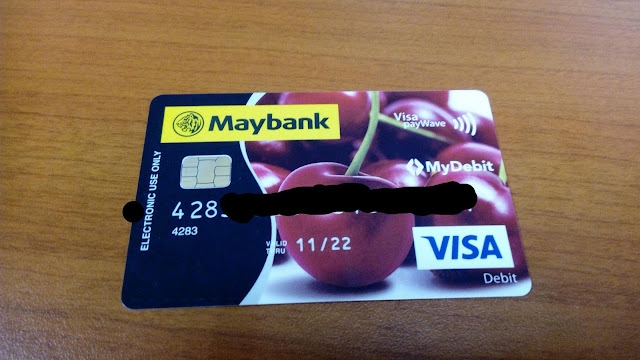 Tukar Kad ATM Maybank