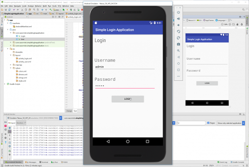 Download Simple Android Login Application With Source Code