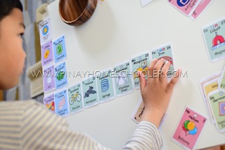 Arranging the Element Cards in a Periodic Table