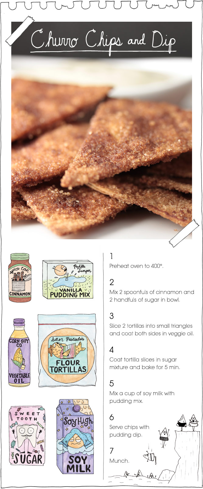 The Vegan Stoner's Churro Chips