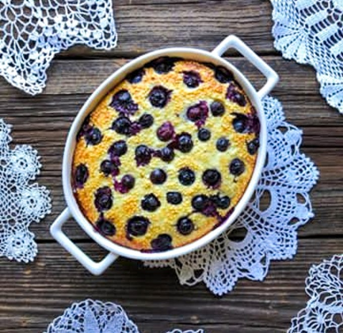 Baked Millet With Blueberries Recipe | Breakfast Care