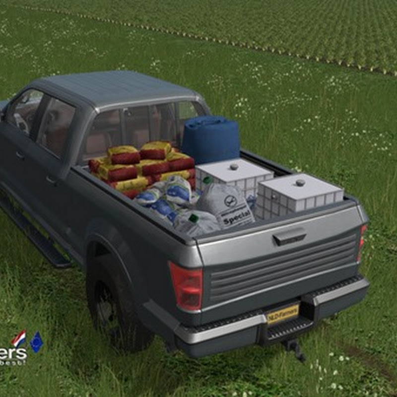 Farming simulator 2017 - All Seeds Service Pickup