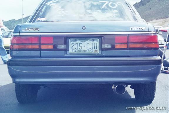 1990 mazda 626 sedan specifications pictures prices rh cars specs com 1990 mazda 626 workshop manual 1996 Mazda 626