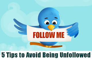 Avoid Being Unfollowed on Twitter