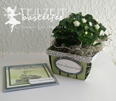 Stampin' Up! - Vatertag, Father's Day,  Berry Basket, BigZ L Körbchen, Framelits Circle Collection, Framelits Oval Collection, Going Global, Traveler, In the Meadow, Liebe ohne Grenzen