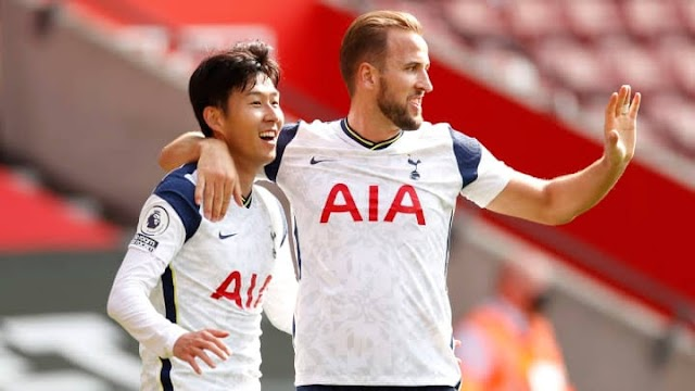 Son Heung Min Barges Four Goals As Spurs Rout Southampton