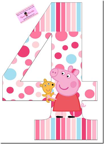 cumpleños peppa pig numeros (4)