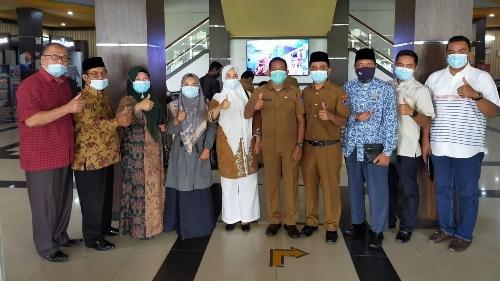 Komisi II DPRD Kampar Kunjungi Setdako Payakumbuh
