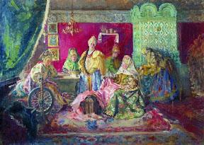 В боярском тереме. 1906-1907
