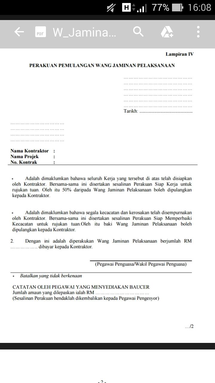 Contoh Surat Rasmi Permohonan Pembaharuan Lesen Muharram P