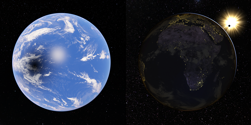 Google Maps Sonnenfinsternis