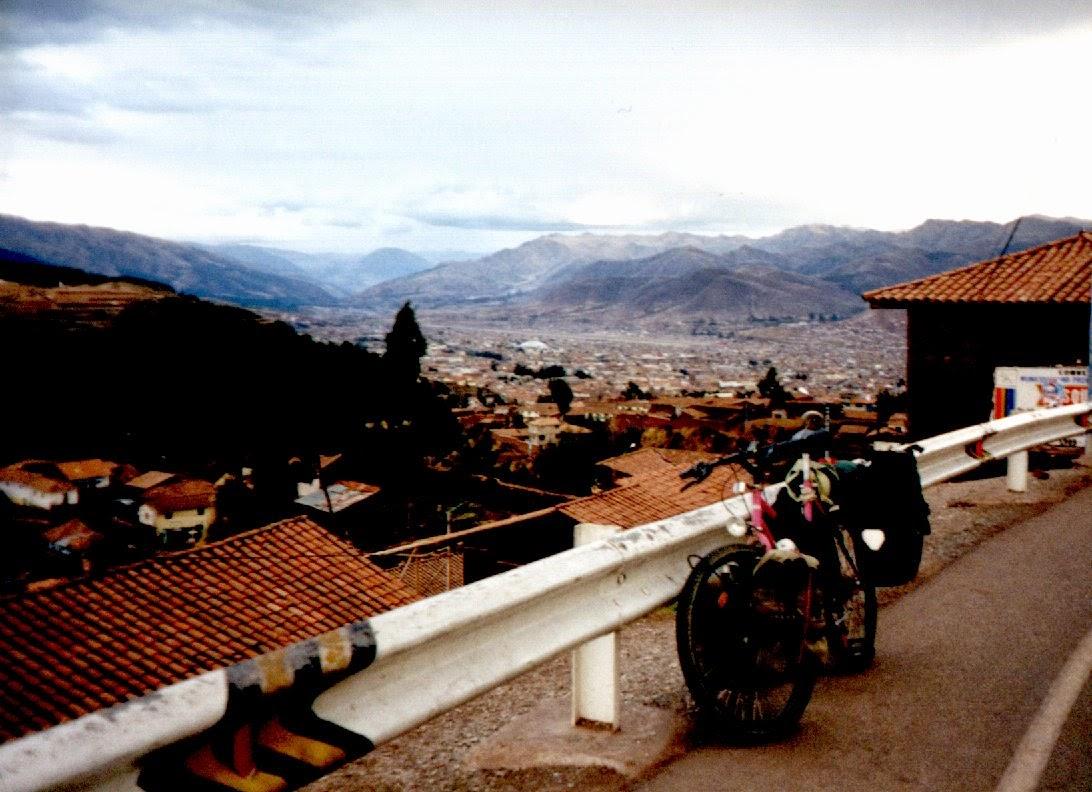 Geschafft: Dort unten liegt die ehemalige Hauptstadt des Inka-Imperiums.