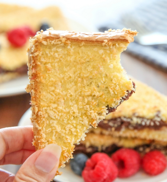 close-up of Crunchy French Toast