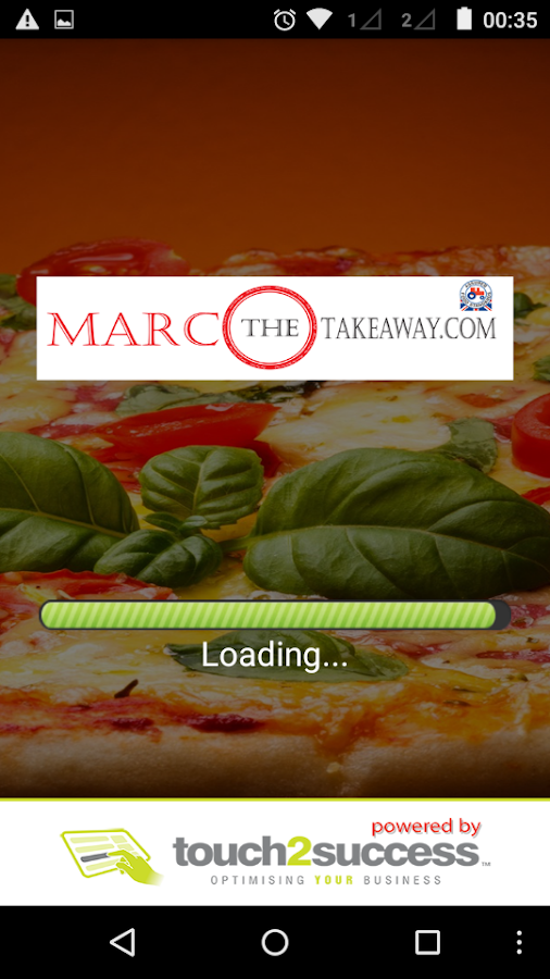 Marco The Takeaway.com- screenshot